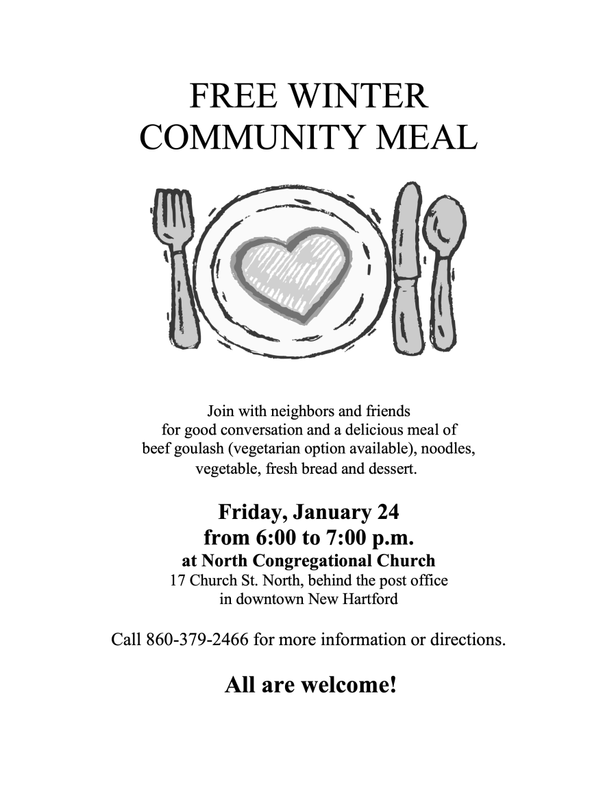 Free Winter Community Meal 2020