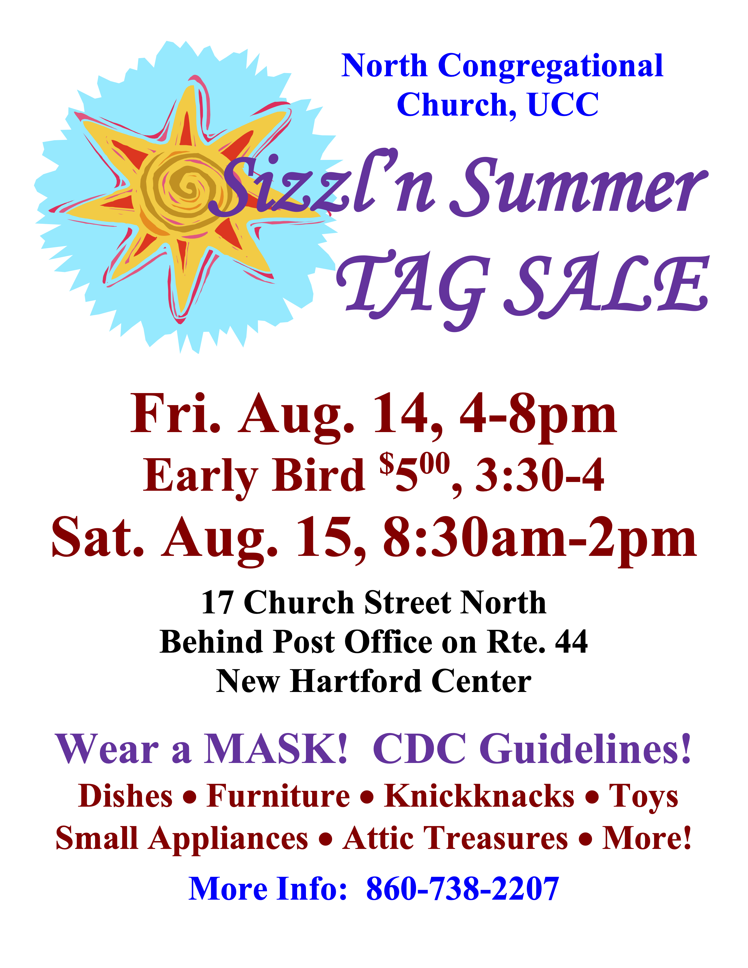 Tag Sale Poster 2020